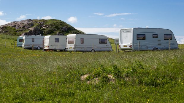 Campsite Uig/Lewis