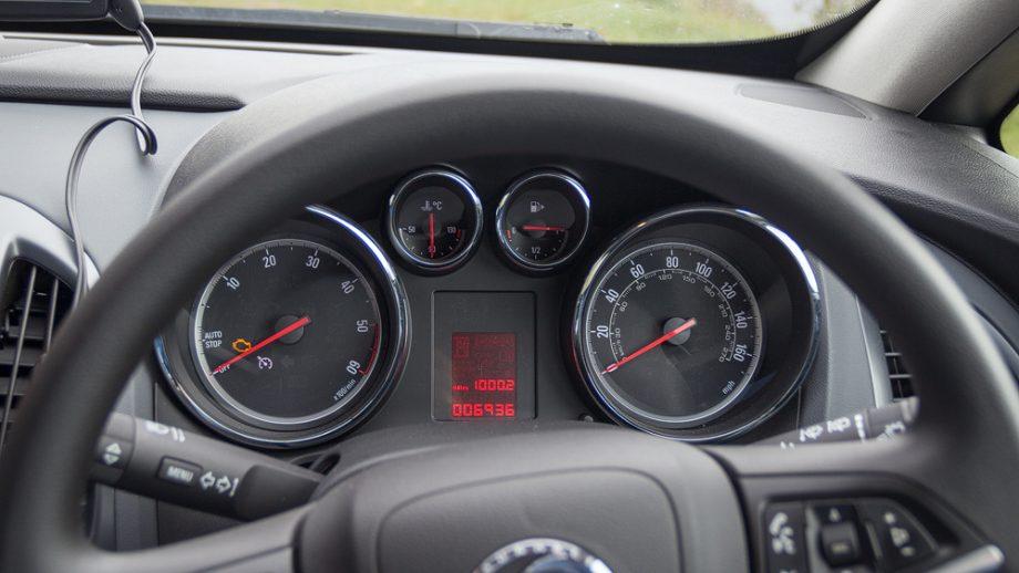 Cockpit Mietwagen