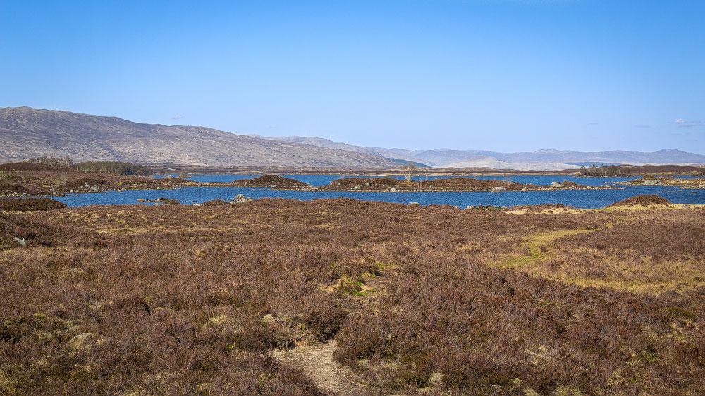 Moor und Lochs
