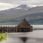 Crannog Loch im Loch Tay
