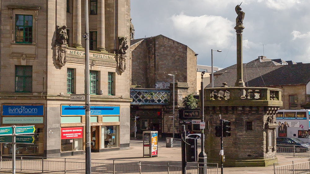 Mercat Cross am Gallowgate