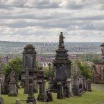 Blick über die Necropolis Glasgow