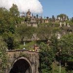 Brücke zur Necropolis Glasgow