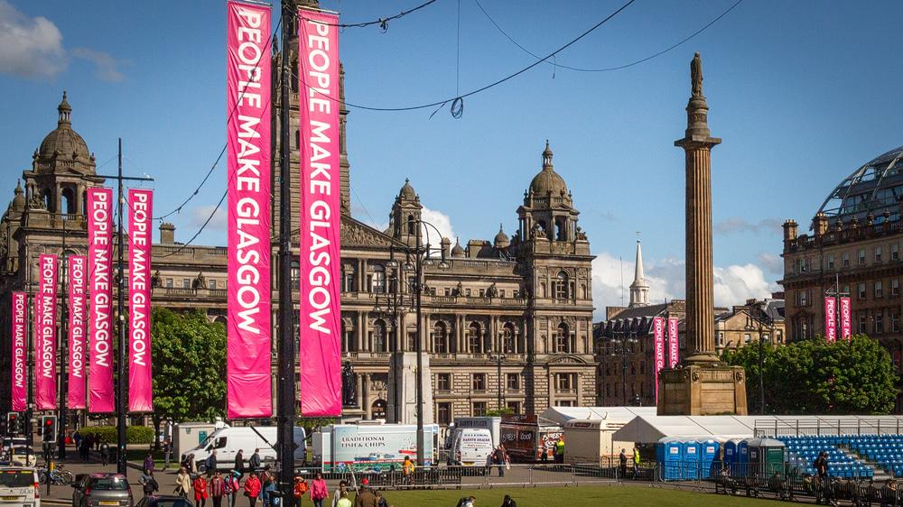 People make Glasgow Banner