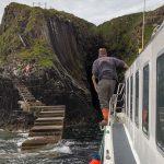 Landung auf Staffa