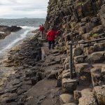 Der Weg zur Fingal's Cave