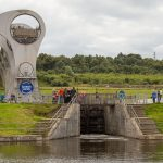 Schleuse vor dem Falkirk Wheel
