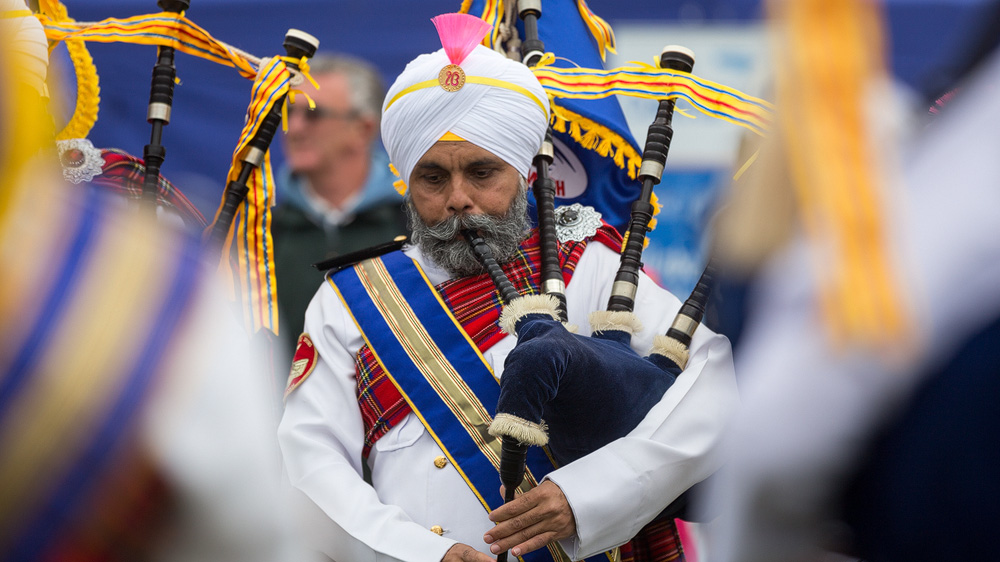 Sri Dasmesh Pipe Band - Malaysian Sikh Band