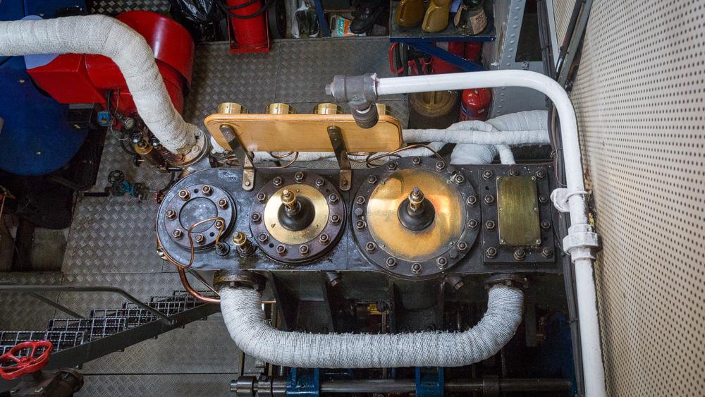 Maschine der Sir Walter Scott