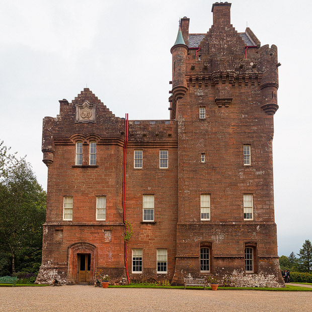 Brodick Castle Eingang
