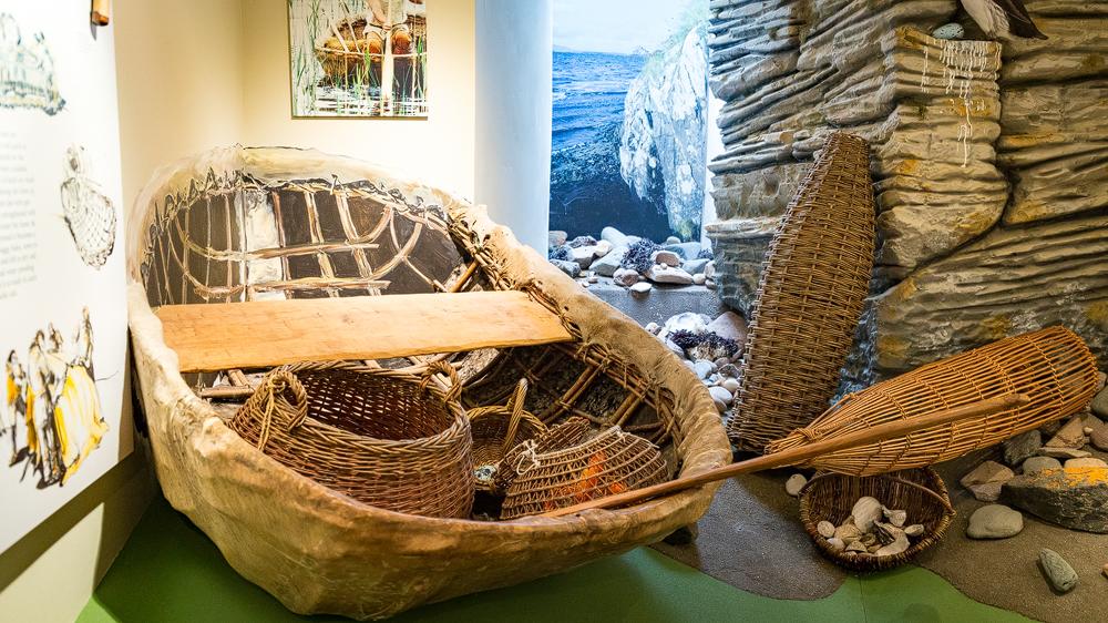 Coracle - Boot aus der Steinzeit