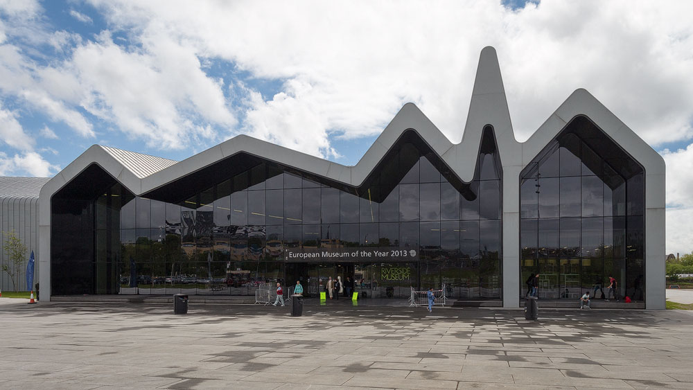 Riverside Museum Front