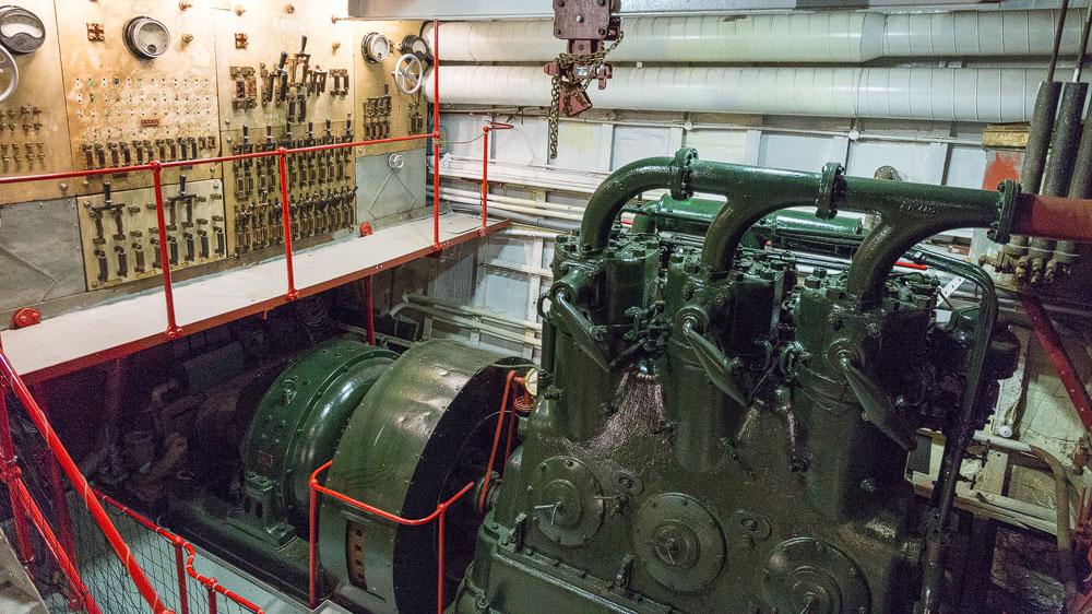 Eine Maschine der Glenlee