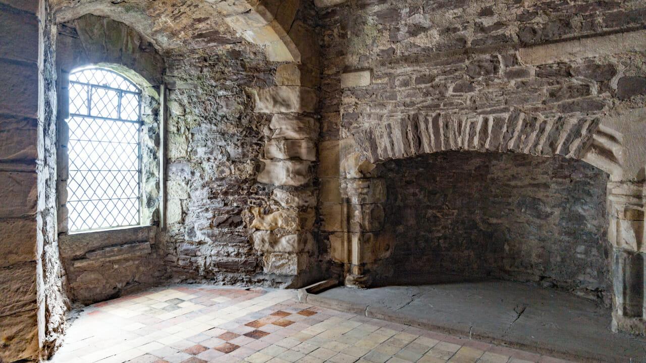 Ein Gemach in Doune Castle