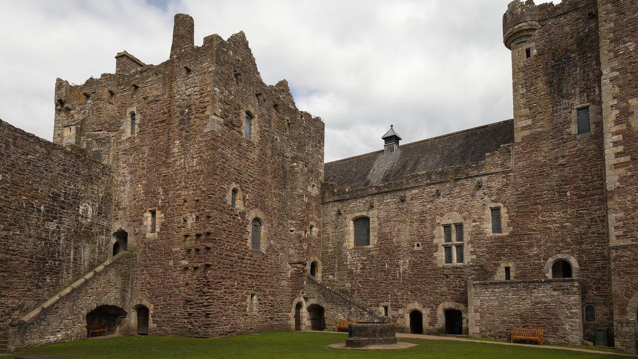 Doune Castle Hof