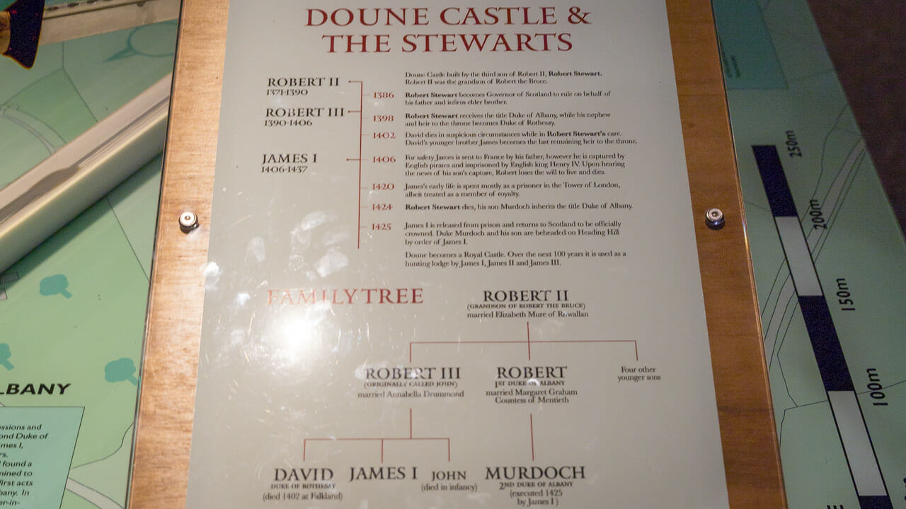 Doune Castle Stewarts