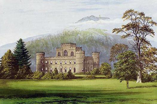 Inverary Castle früher - Foto: Gemeinfrei