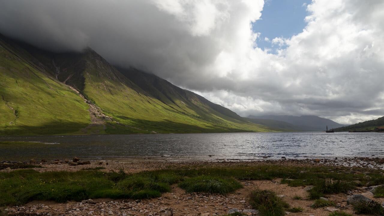Loch Etive und Ben Starav