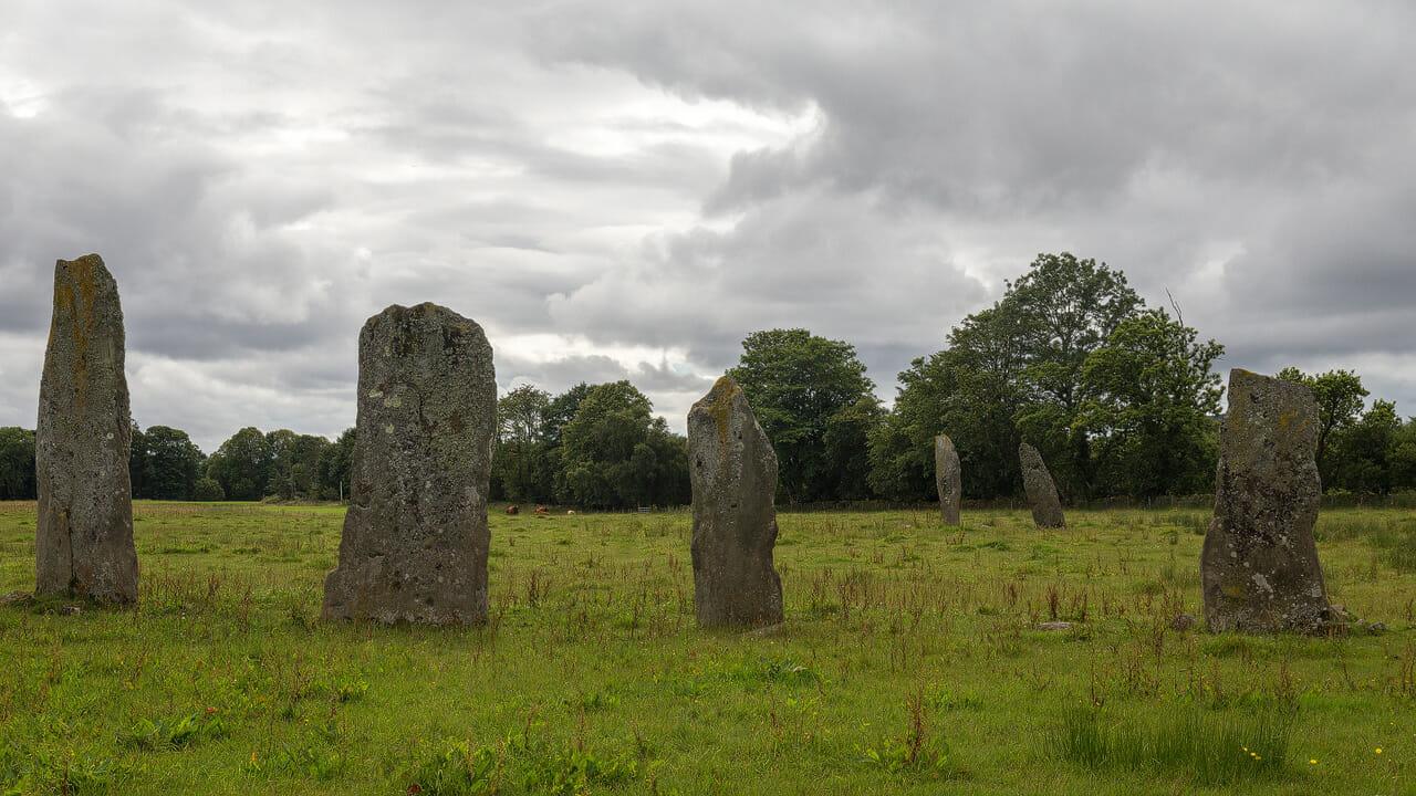 Standing Stones bei Ballymeanoch