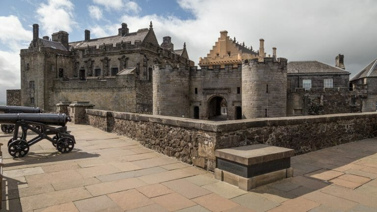 Stirling Castle Eingang