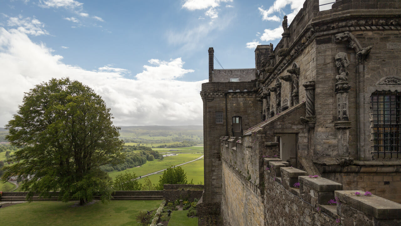 Stirling Castle Palace