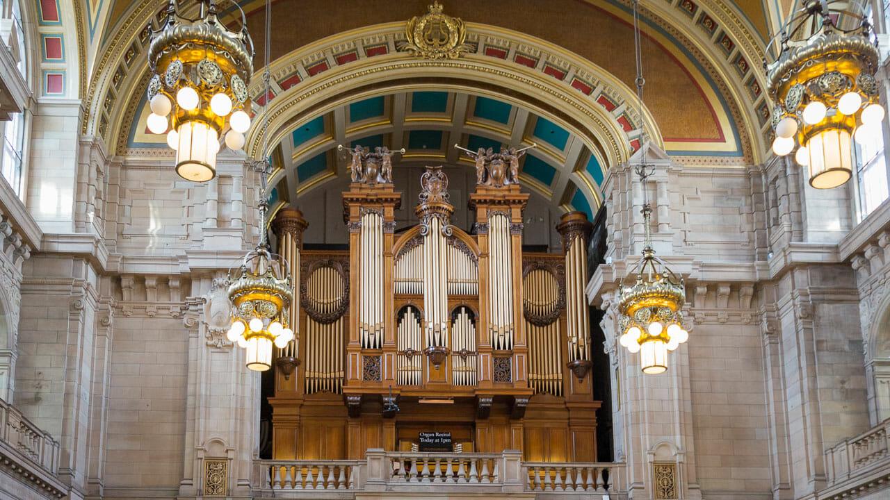 Kelvingrove Museum Orgel
