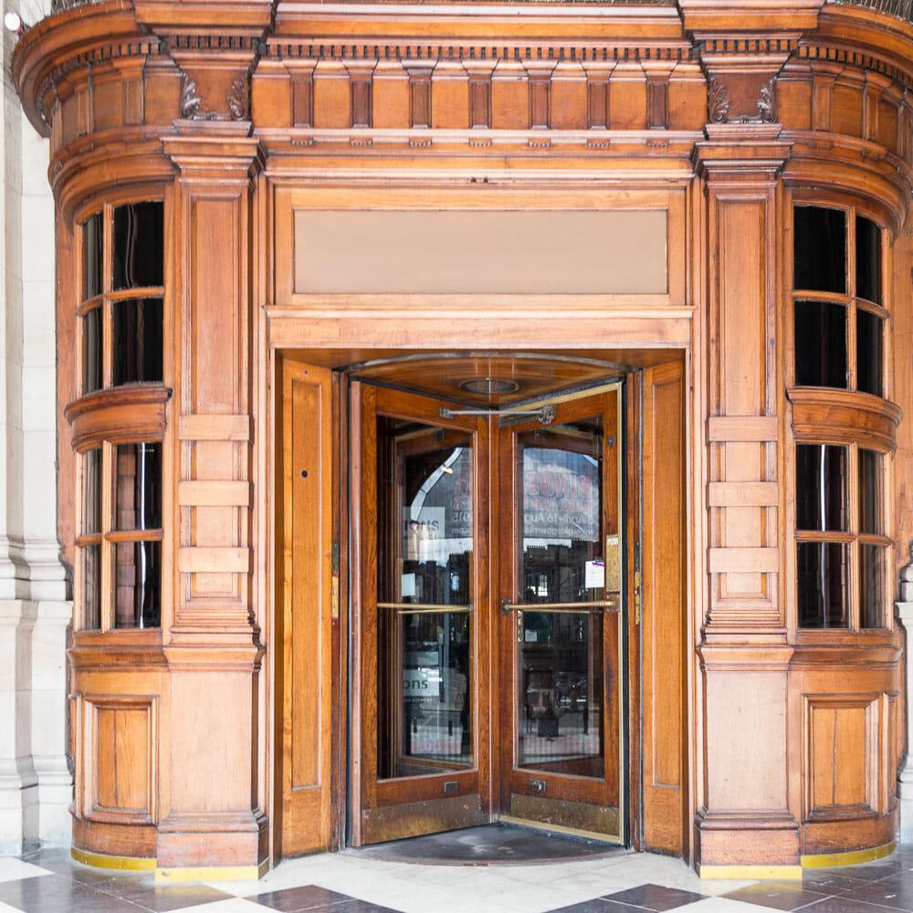 Kelvingrove Museum Eingang