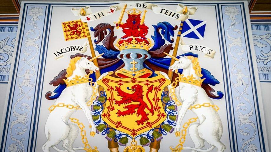 Schottlands Wappen
