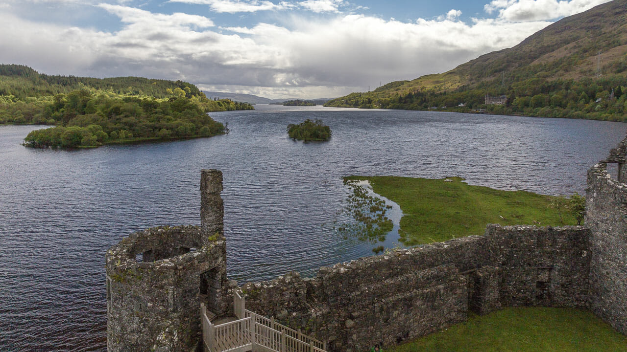 Blick über Loch Awe