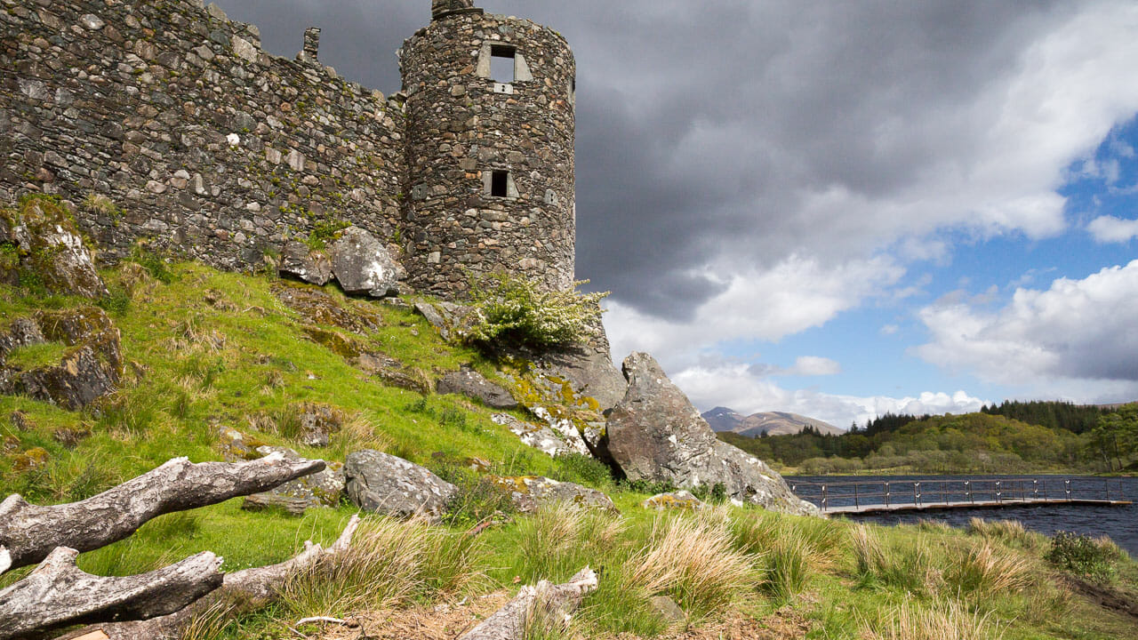 Kilchurn Castle Eckturm