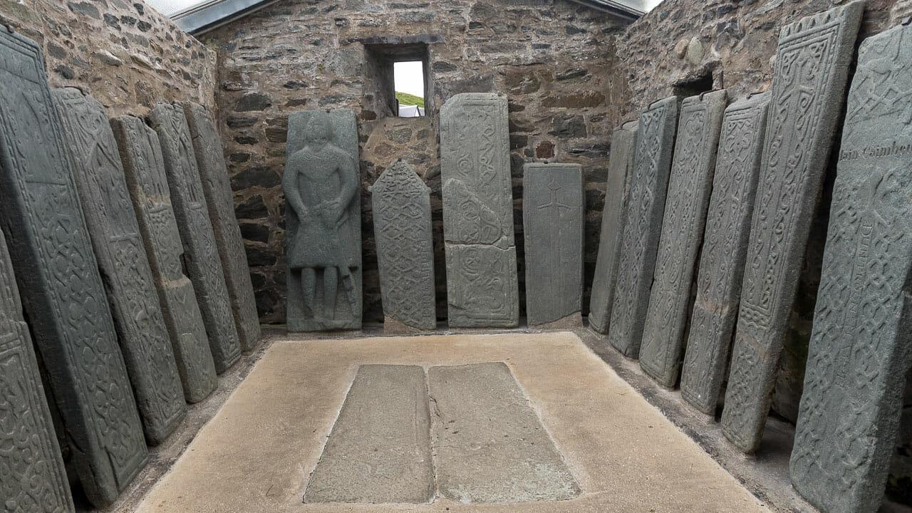 Grabplatten: Kilmartin Stones