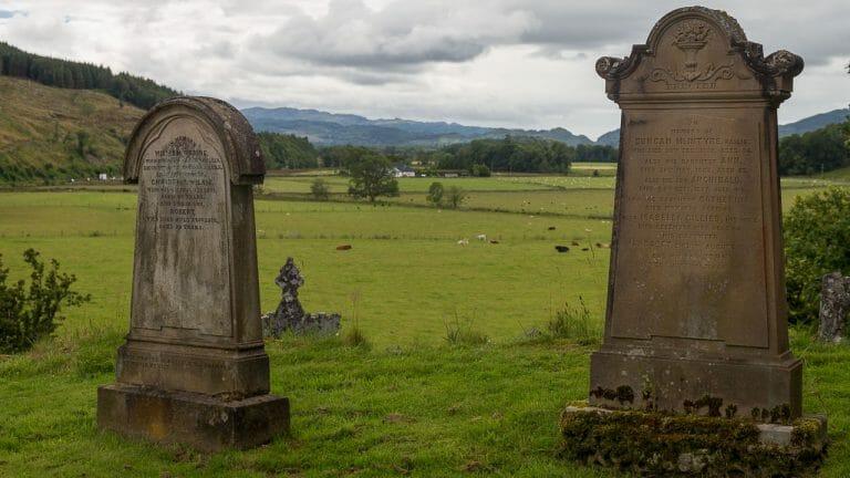 Blick ins Kilmartin Glen