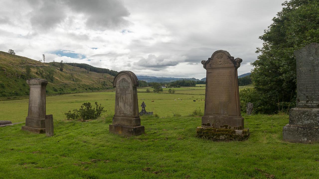 Blick ins Tal von Kilmartin