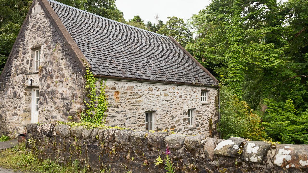 Gebäude der Woolen Mill