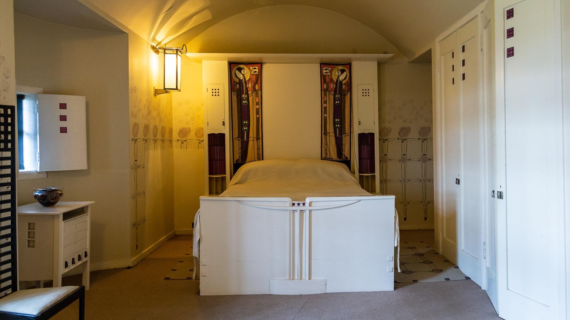 Schlafzimmer des Hill House