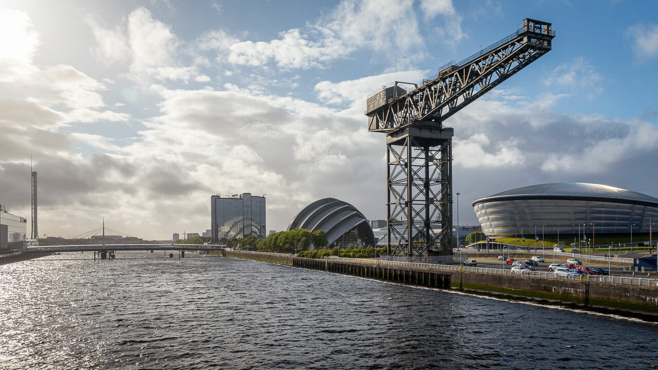 Clyde Waterfront in Glasgow
