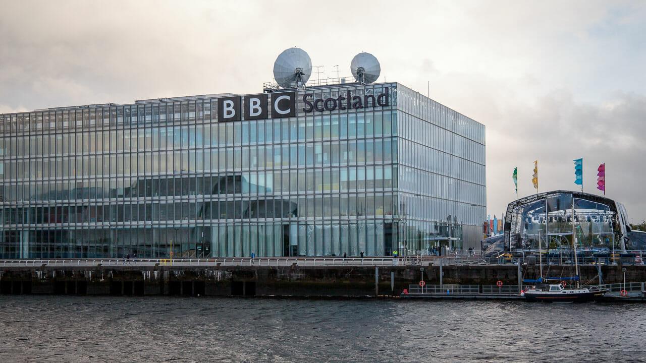 Gebäude BBC Scotland