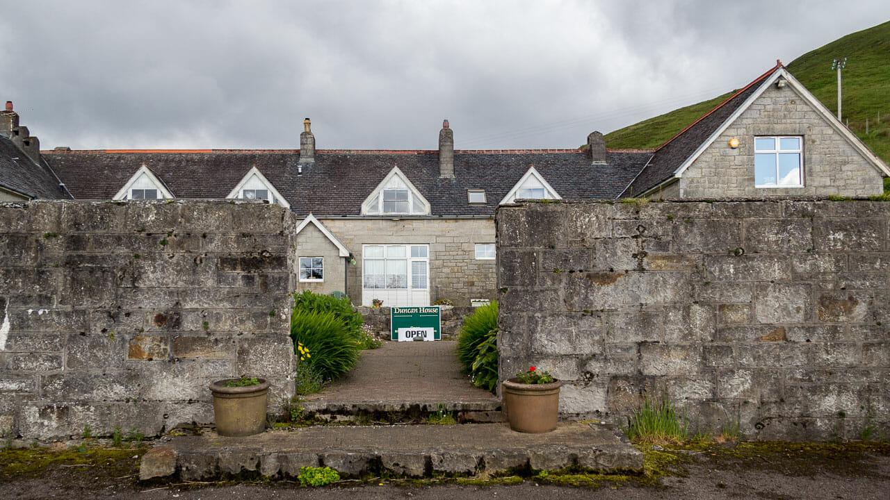 Eingang zum Duncan House