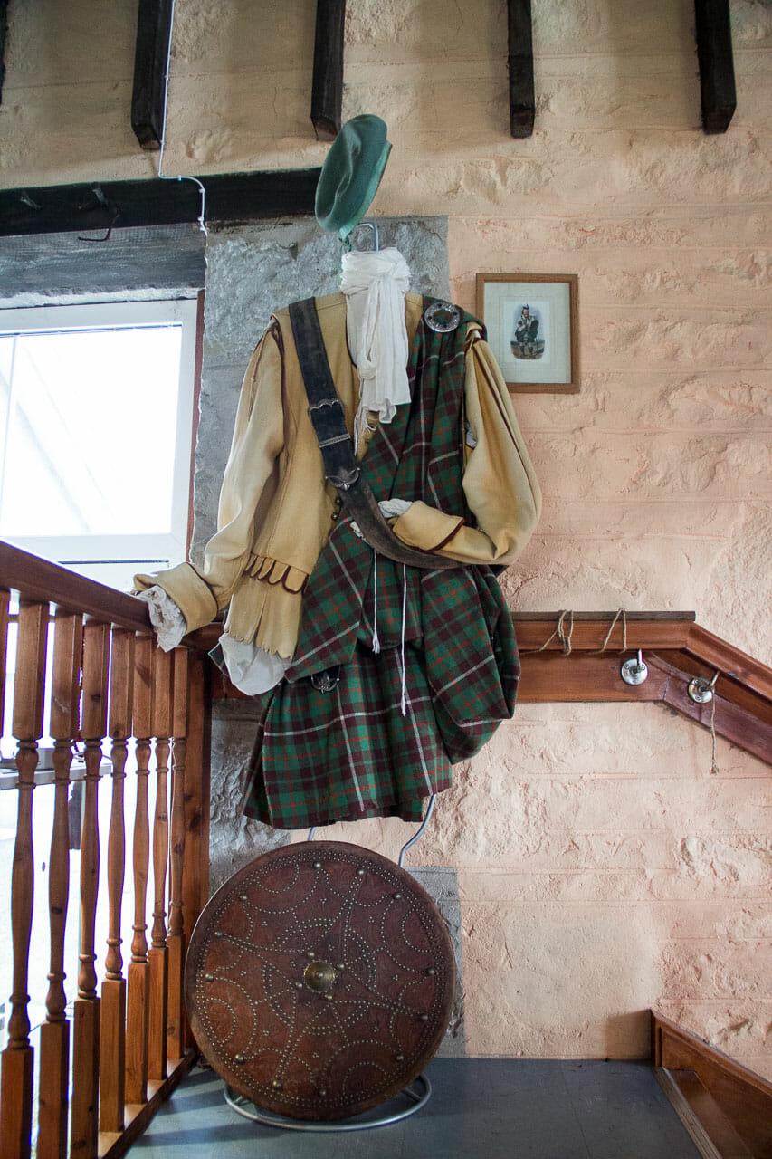 Highlander-Tracht