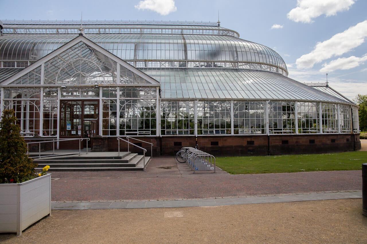 Der Wintergarten am People's Palace