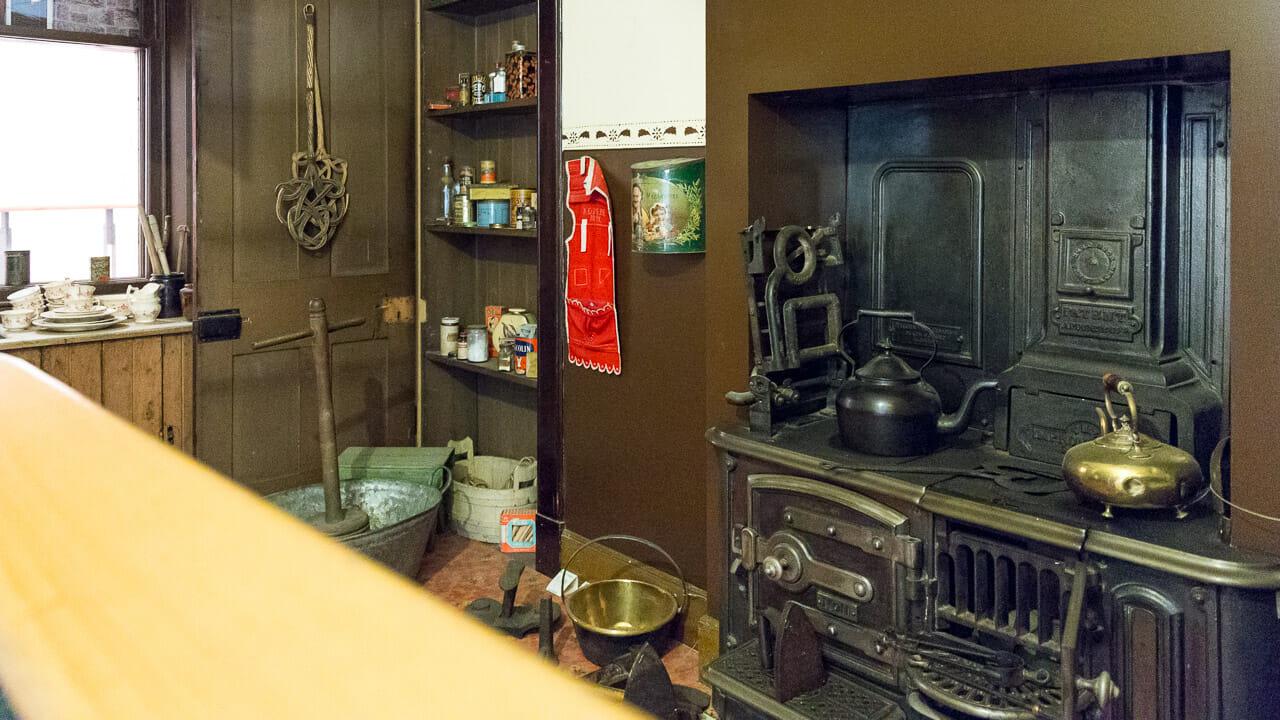 Küchennachbau im People's Palace