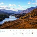 Schottland Kalender 2017 Februar MyHighlands