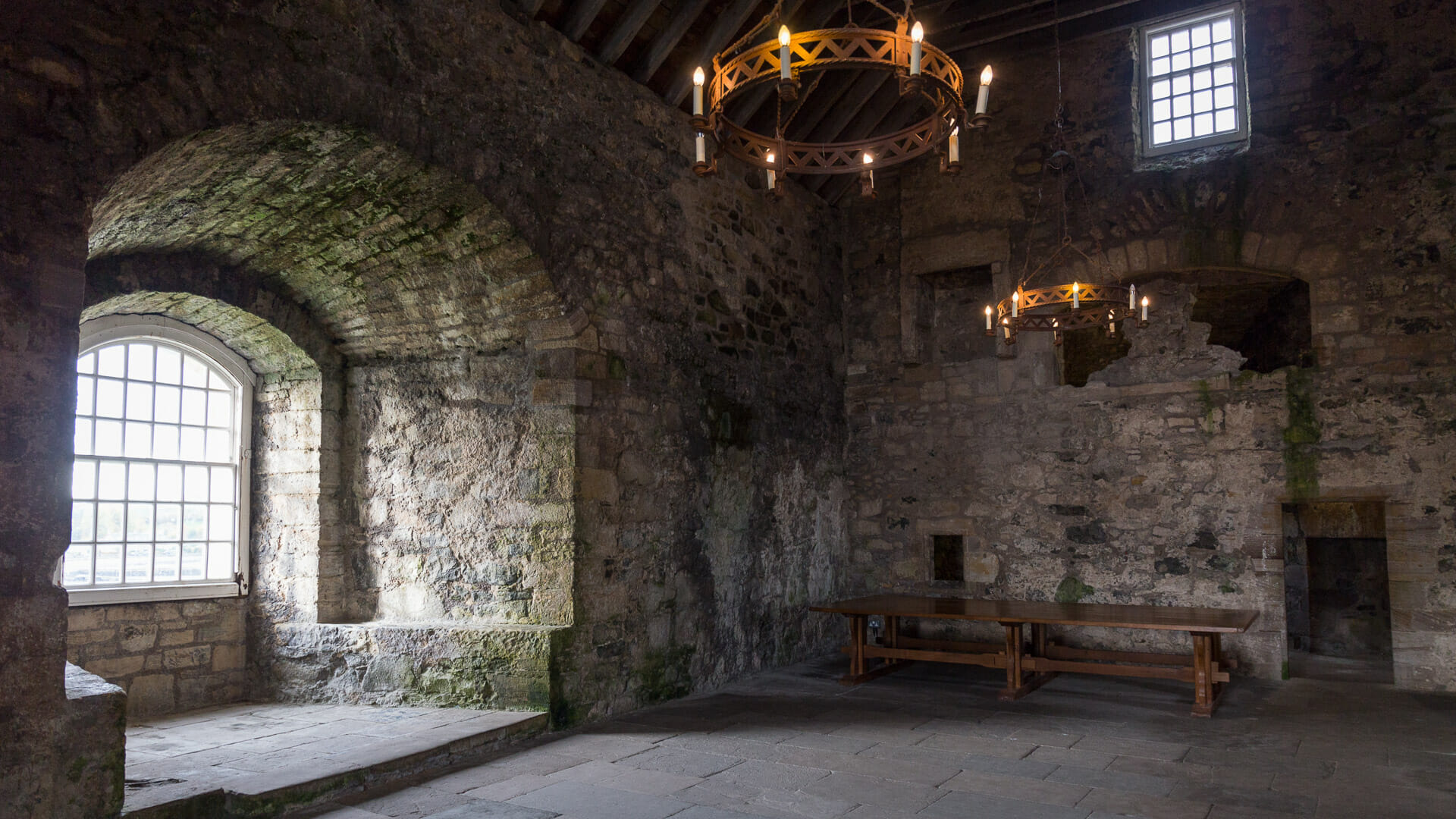 Blackness Castle innen