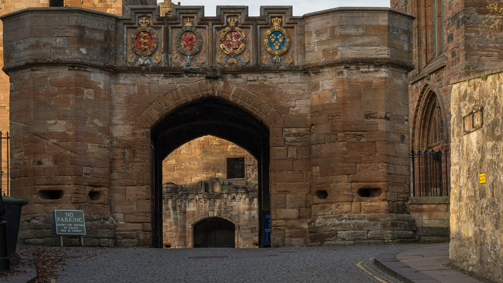 Haupttor des Linlithgow Palace
