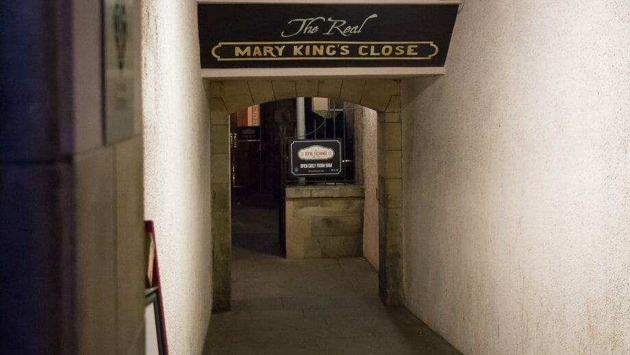 Eingang zur Mary King's Close