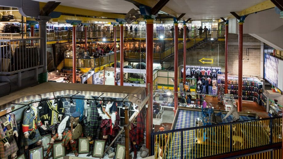 Tartan Weaving Mill and Experience