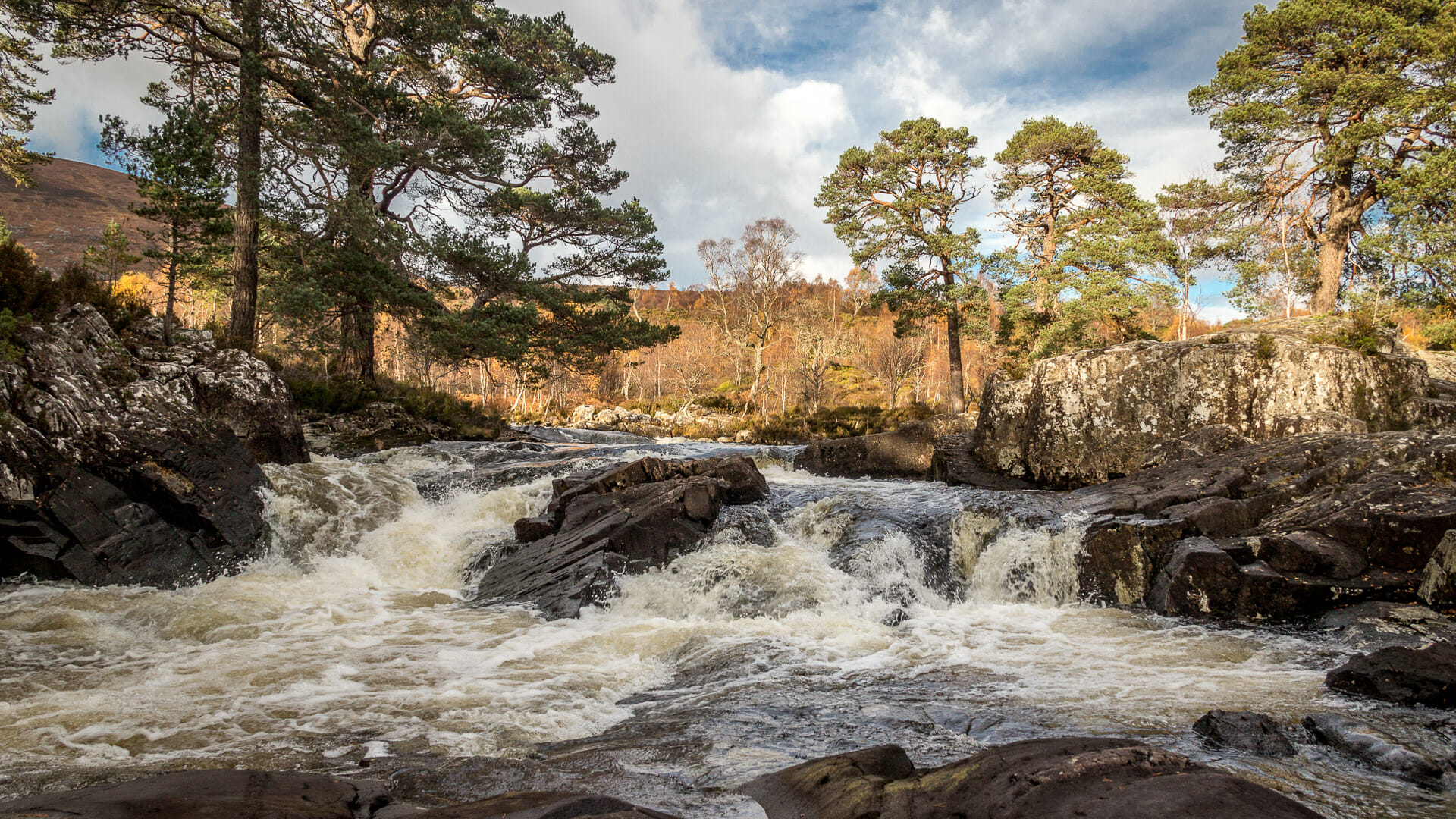 Wasserfall River Affric