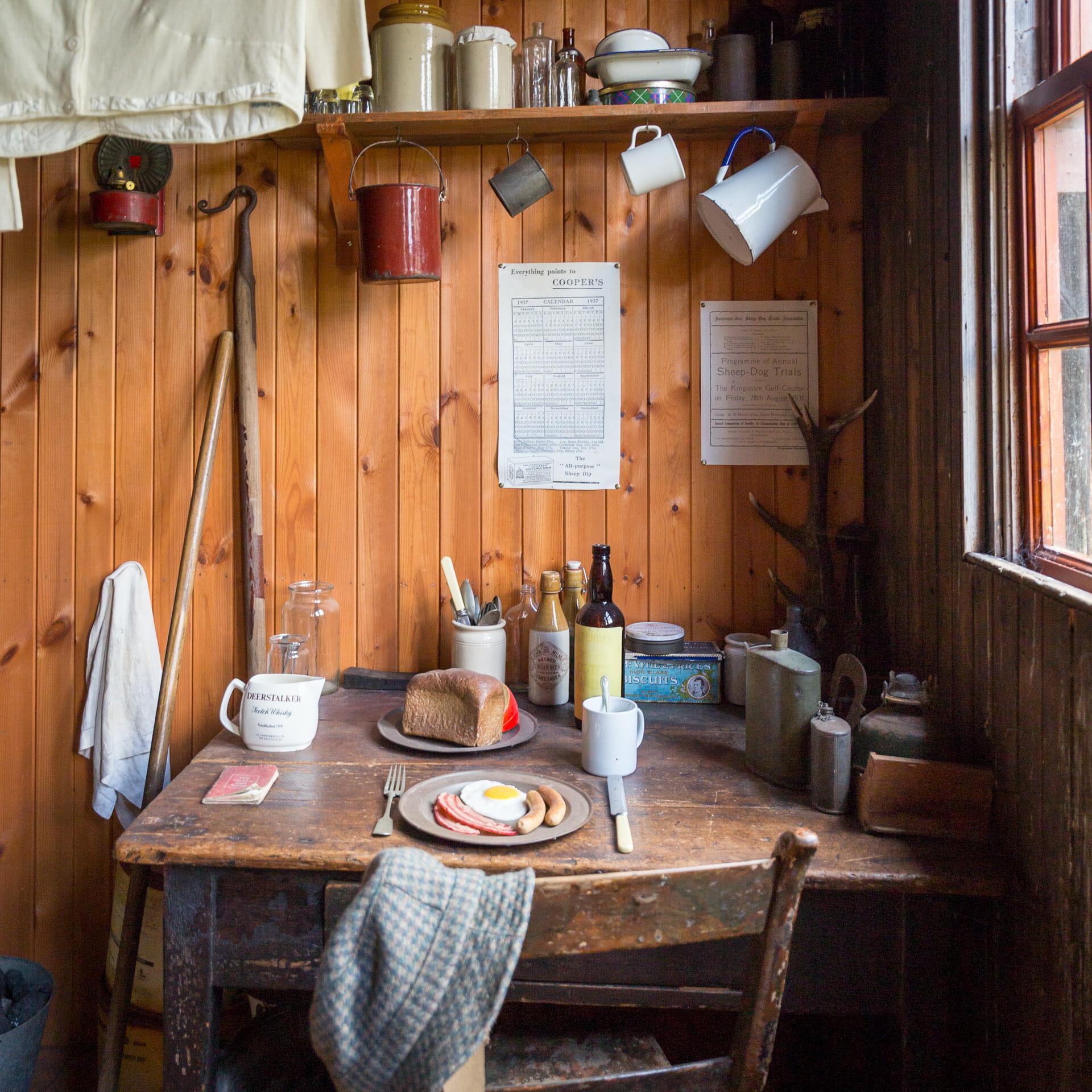 In der Schäferhütte