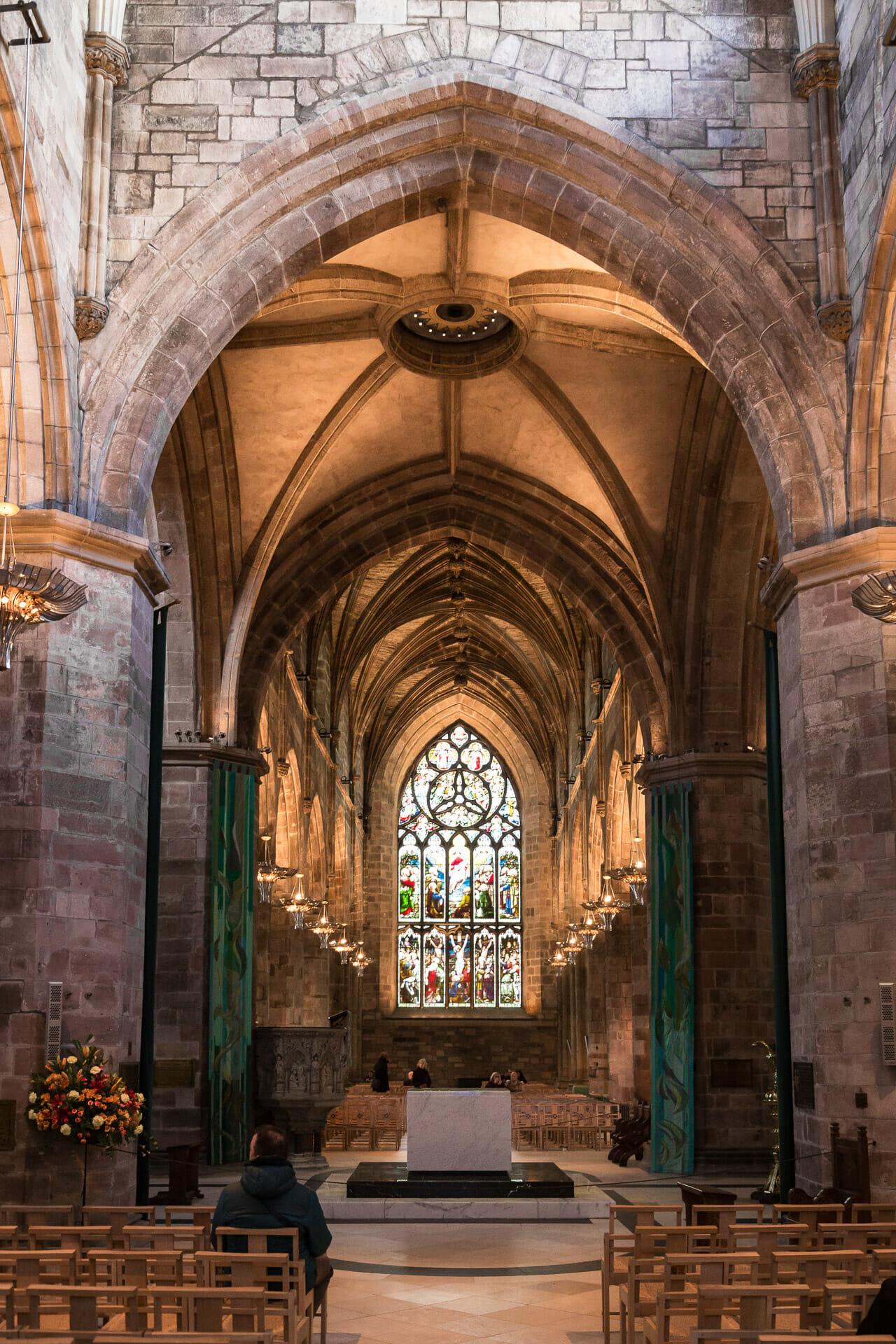 Sanktuarium und Chor der St Giles' Cathedral