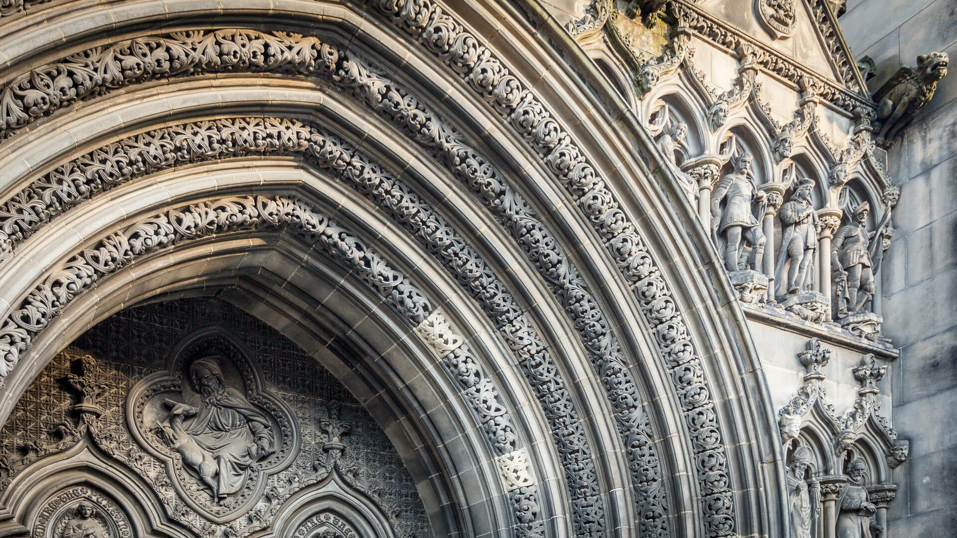 Torbogen der St Giles' Cathedral